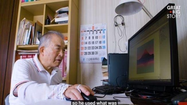 Keren, Kakek Ini Bikin Lukisan Indah dengan Microsoft Excel