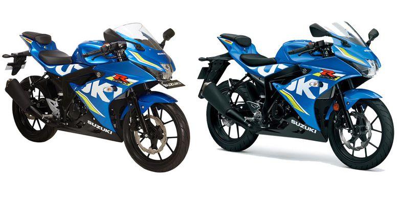 Nyaris Sama, Apa Bedanya Suzuki GSX 150 dan 125?