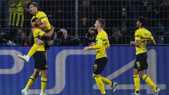 Dortmund Gasak Atletico Madrid, PSG dan Napoli Imbang