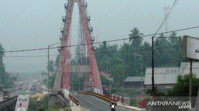 Alat Ukur Kualitas Udara Rusak, DLH Dharmasraya Minta Bantuan BMKG