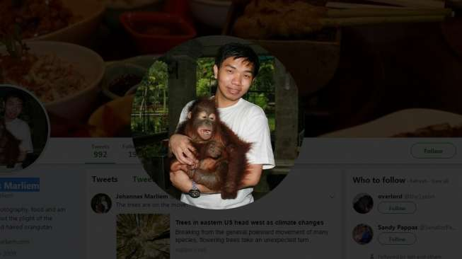 Sisi Lain Saksi Kunci e-KTP Johannes Marliem, Cinta Orangutan