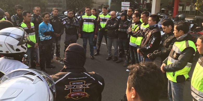Klub Honda PCX Pilih Ketua Baru di Pangandaran