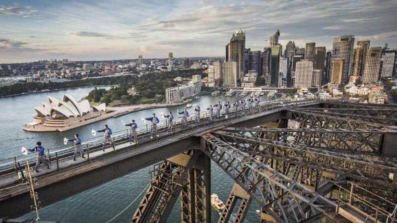 Sensasi Lutut Gemetar di Sydney Harbour Bridge