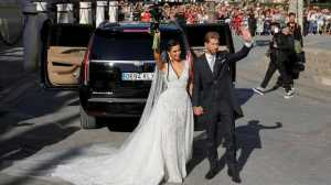 Satu Peraturan Aneh di Pernikahan Sergio Ramos