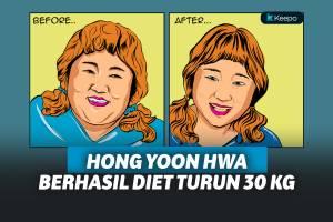 Menikah Hari Ini Komedian Korsel Hong Yoon Hwa Berhasil Turunkan Berat Badan Hingga 30 Kg