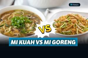 Mie Kuah vs Mie Goreng, Kira-Kira Lebih Sehat yang Mana Ya?