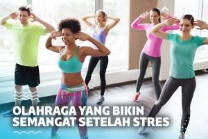 5 Olahraga yang Bikin Kamu Semangat Lagi Setelah Stres Karena Deadline