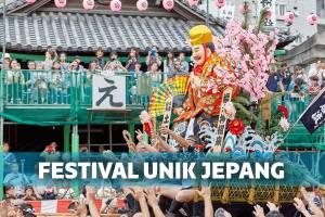 6 Festival Unik yang Cuma Diadakan di Jepang