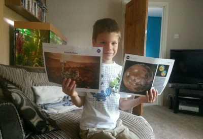 Mau Pergi ke Mars, Bocah 7 tahun Ini Surati NASA
