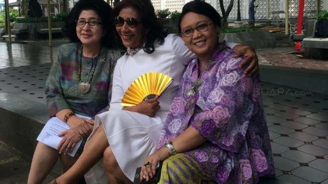 Kisah 3 Srikandi Jokowi, Nongkrong dan Bercanda di Lorong Istana