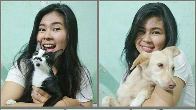 Ini Kisah Ghea Siagian, Pecinta Anjing dan Kucing