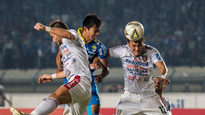 Hasil Liga 1 2019: Bali United Taklukkan Persib Bandung di Jalak Harupat