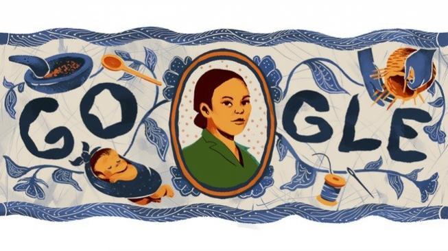 Maria Walanda Maramis Berulang Tahun, Google Rayakan Lewat Doodle