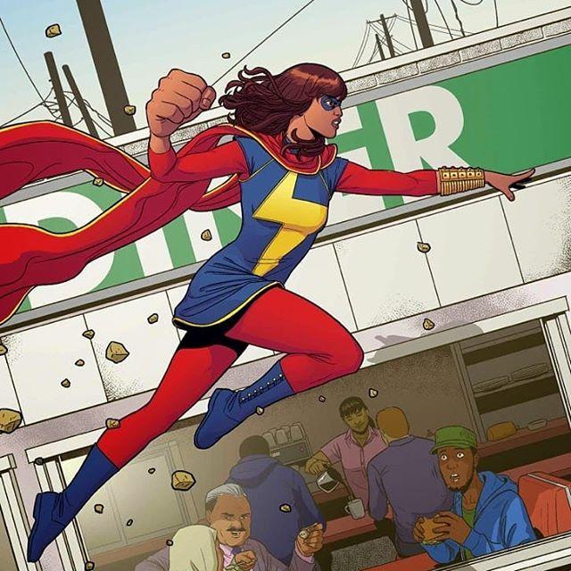 10 Fakta Tentang Superhero Muslim Ms Marvel
