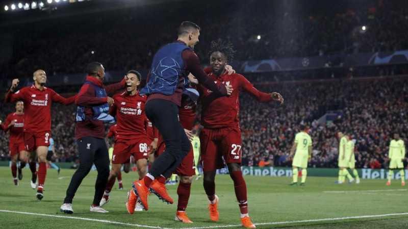 Tujuh Comeback Liga Champions Musim Ini