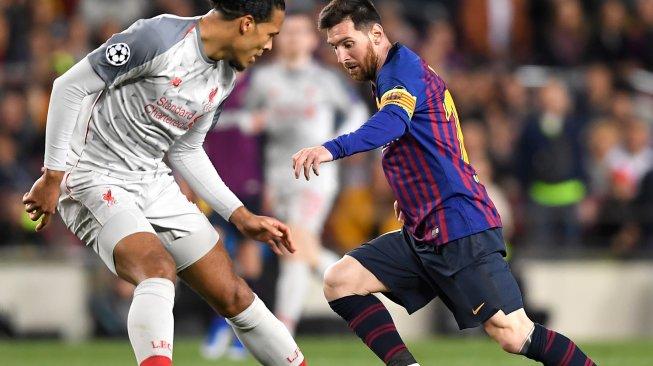 Van Dijk: Messi Pantas Menangkan Ballon dOr