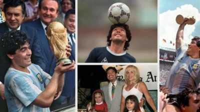 Diego Maradona, Petualangan Seks dan Narkoba Sang Legenda