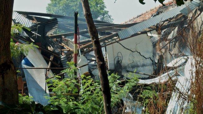Bom Ranjau Picu Ledakan Gudang Amunisi Sisa Perang di Mako Brimob