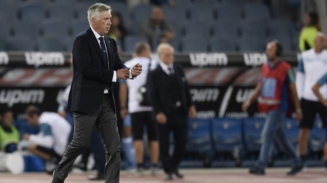 Menang Debutnya Bersama Napoli, Ancelotti Akui Sempat Gugup