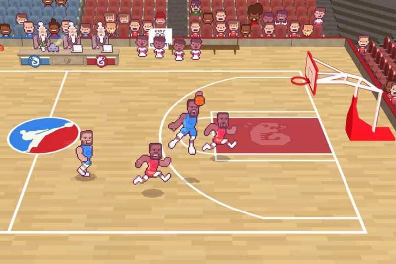 Game Unik dalam Wujud Draymond Green's Karate Basketbal