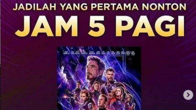 Avengers Belum Baku Hantam, Jaringan Bioskop Indonesia Sudah Perang Duluan