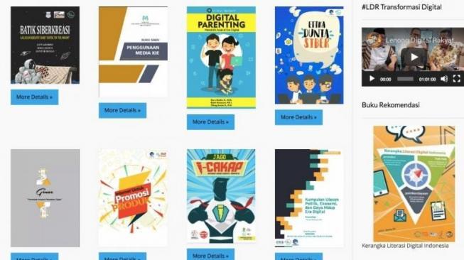 Capaian Penting Gerakan Siber Kreasi Kominfo Selama 2018