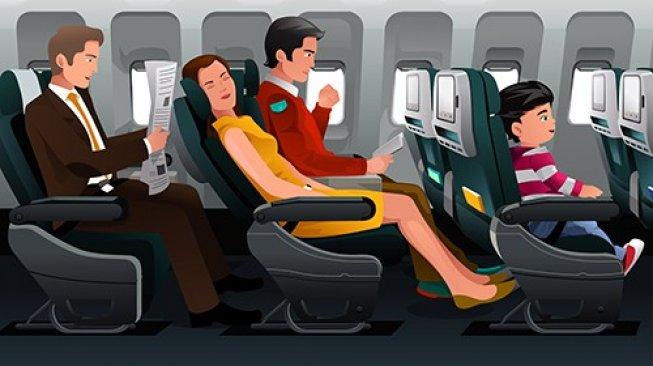 Tindakan Sepele di Pesawat Ini Bisa Bikin Kesal Penumpang Lain Lho!