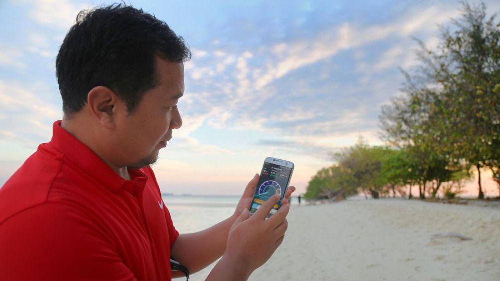 Hadir di Karimunjawa, 4G Telkomsel Diklaim Tembus 75Mbps