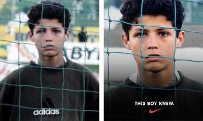 Foto Lucu Ronaldo Pakai Adidas di Iklan Terbaru Nike