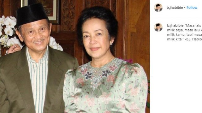 BJ Habibie dan Ainun Cicil Rumah Mewahnya di Patra Jasa Selama 20 Tahun
