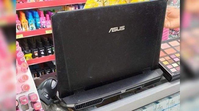 Laptop Gaming Mahal Jadi Begini, Warganet: Jiwa Miskinku Membara
