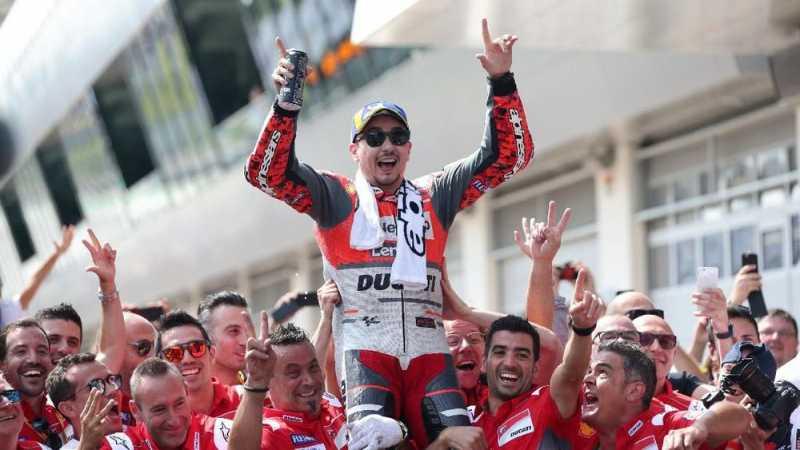 Jorge Lorenzo Berharap Ducati Tampil Buruk di MotoGP 2019