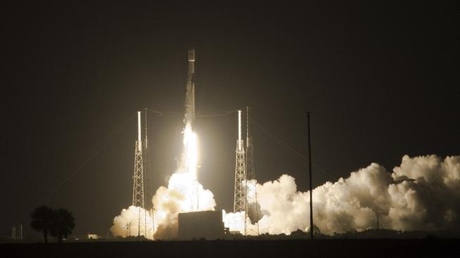 Satelit Merah Putih Sukses Diluncurkan ke Orbit