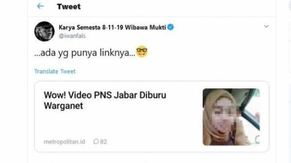 Unggah Berita Video Porno di Twitter, Iwan Fals: Ada yang Punya Linknya
