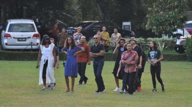 Obama ke Bogor, Kebun Raya Ditutup Hari Ini