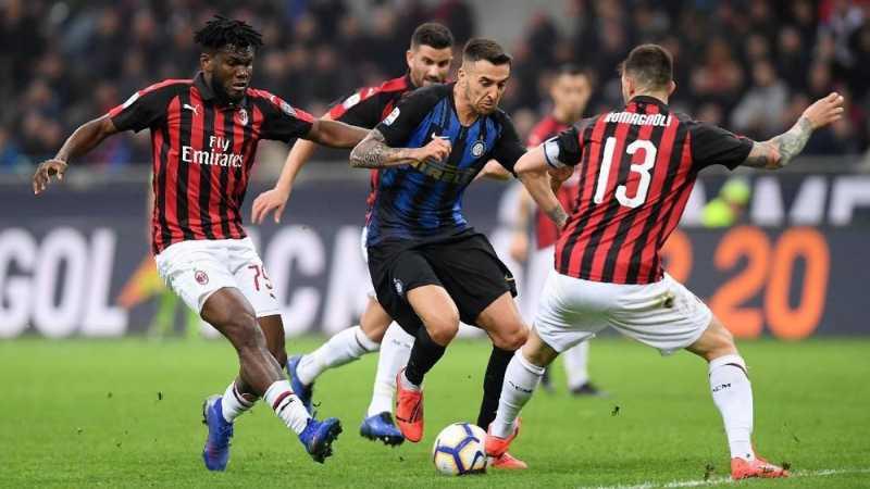 Inter Kalahkan Milan pada Laga Derbi di Liga Italia