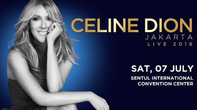 Celine Dion Mampir Indonesia di Tur Asia Pasifik