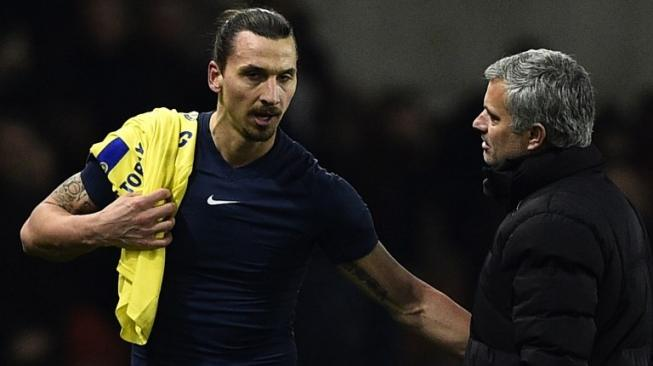 Zlatan Ibrahimovic Bela Jose Mourinho