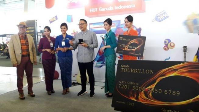 Hebohnya Promo dan Fasilitas Baru di HUT ke-70 Garuda Indonesia