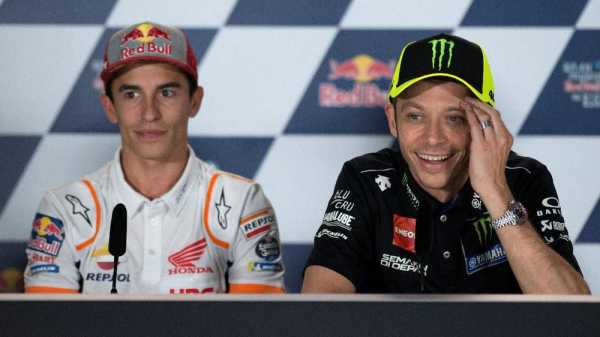 Tak Mau Jemawa, Marquez Waspadai Tim Rossi di MotoGP Belanda