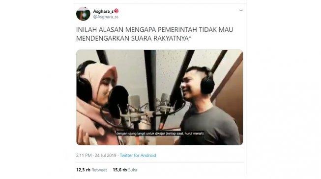 Raditya Dika Unggah Cover Lagu Aladdin, Begini Komentar Kocak Warganet
