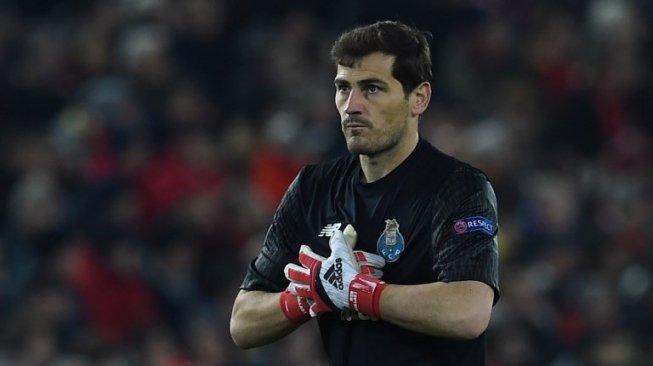 Casillas Alami Serangan Jantung, Begini Respon Real Madrid