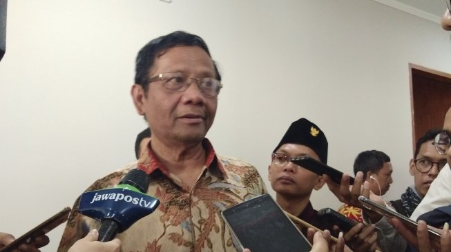 Jokowi Pilih Maruf Amin, Mahfud MD: Saya Tak Kecewa, Kaget Saja