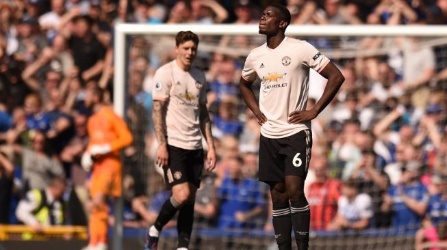 Dihancurkan Everton 0-4, Manchester United Mendekat ke Liga Europa