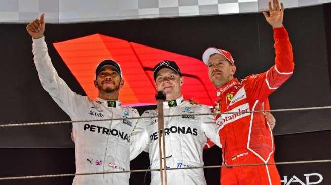 Klasemen Akhir Formula 1 2017