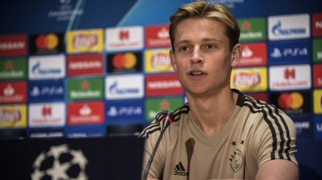 Kabar Baik bagi Ajax, De Jong Berpeluang Tampil Lawan Juventus