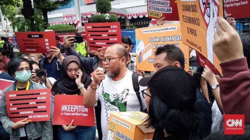 Petisi Cabut Blokir Internet Papua Diteken 10 Ribu Orang