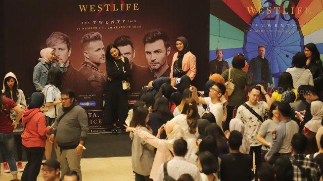 Penonton Kecewa, Promotor Sebut Cuma Ikuti Keinginan Westlife