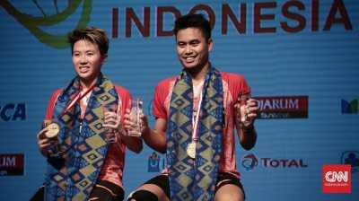 Tontowi/Liliyana Puas Juara di Rumah Sendiri