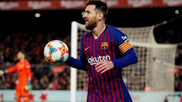 Presiden Lyon Ejek Lionel Messi